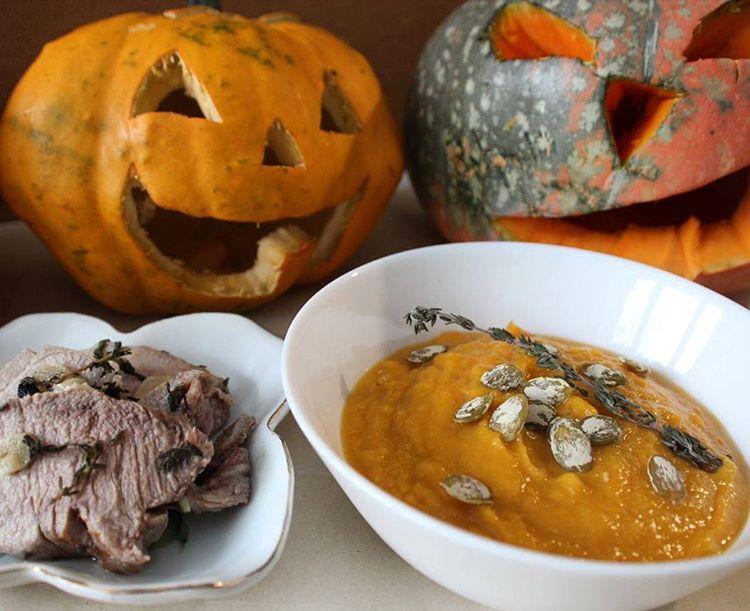 Запечённая свинина — Кухня на Хеллоуин