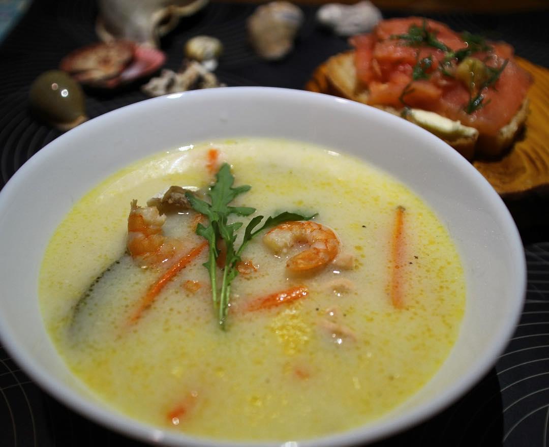 Бергенский суп
