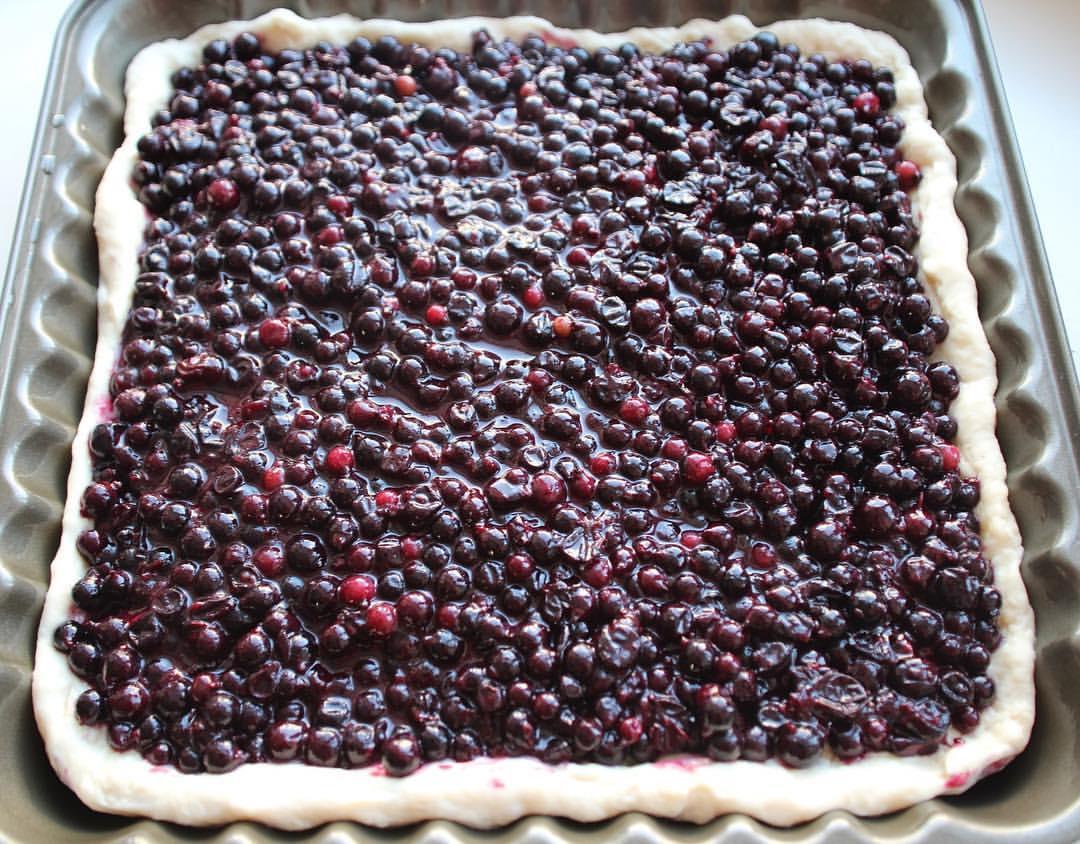 Ягодный пирог — Кухня ко дню Святого Валентина