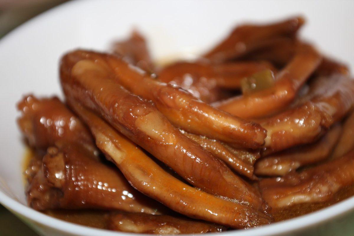 Утиные лапки — Китайская кухня