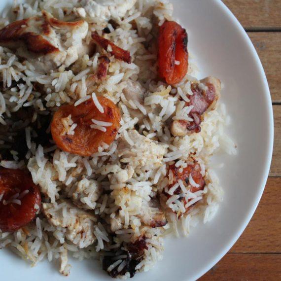 Парча-дошеме плов — Азербайджанская кухня