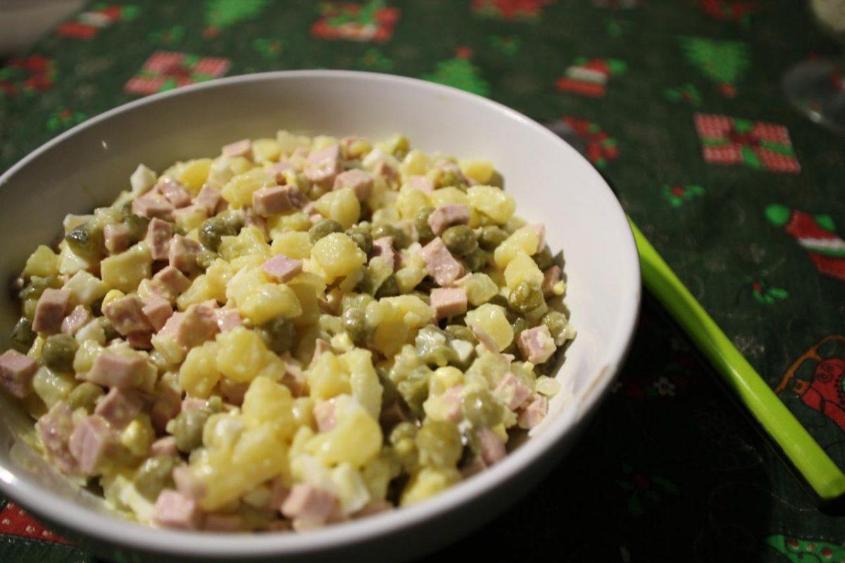 Зимний салат — Русская кухня