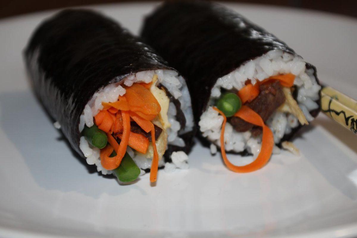 Кимбап — Корейская кухня