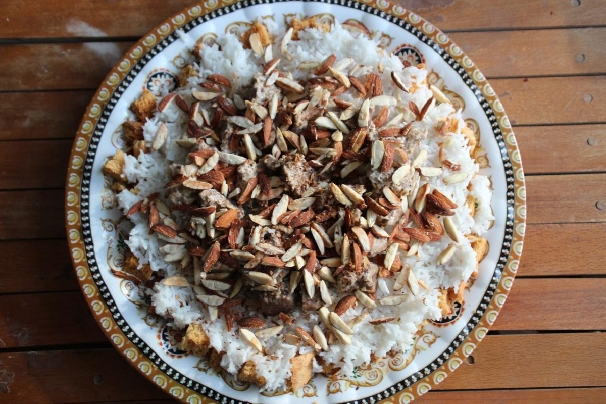 Мансаф — Иорданская кухня