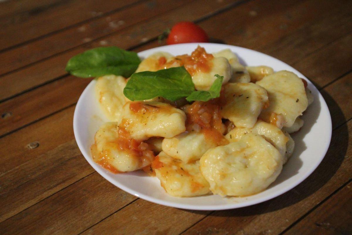 Ньокки из картофеля — Итальянская кухня