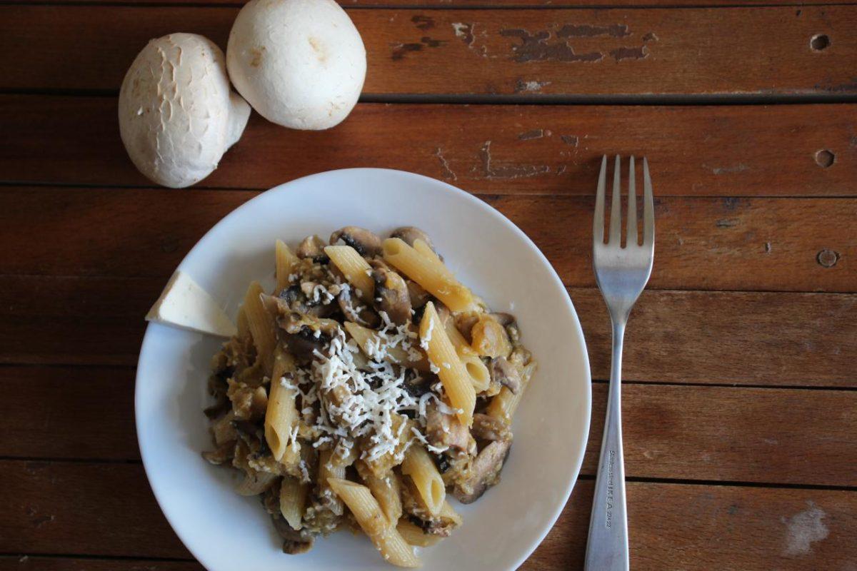 Паста с тыквой и грибами — Итальянская кухня