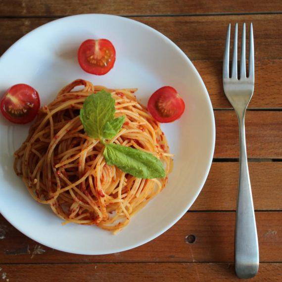 Паста аль помодоро — Итальянская кухня