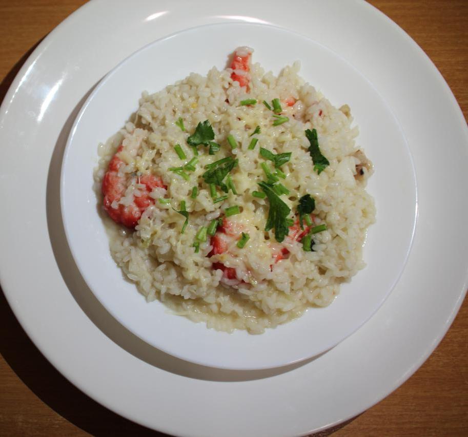 Ризотто с креветками — Итальянская кухня