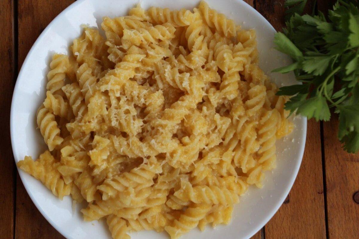 Паста с тыквенным пюре — Итальянская кухня