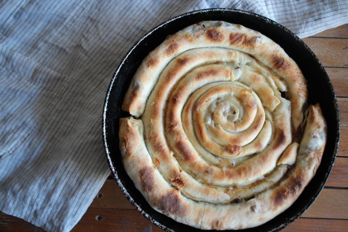 Бюрек с мясом — Албанская кухня