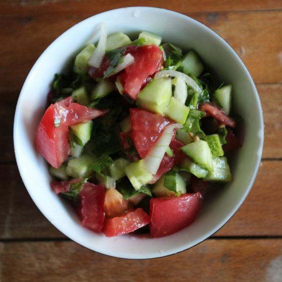 Арабский салат — Иорданская кухня
