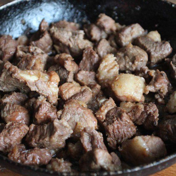 Куурдак — Киргизская кухня