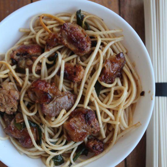 Яки удон — Японская кухня