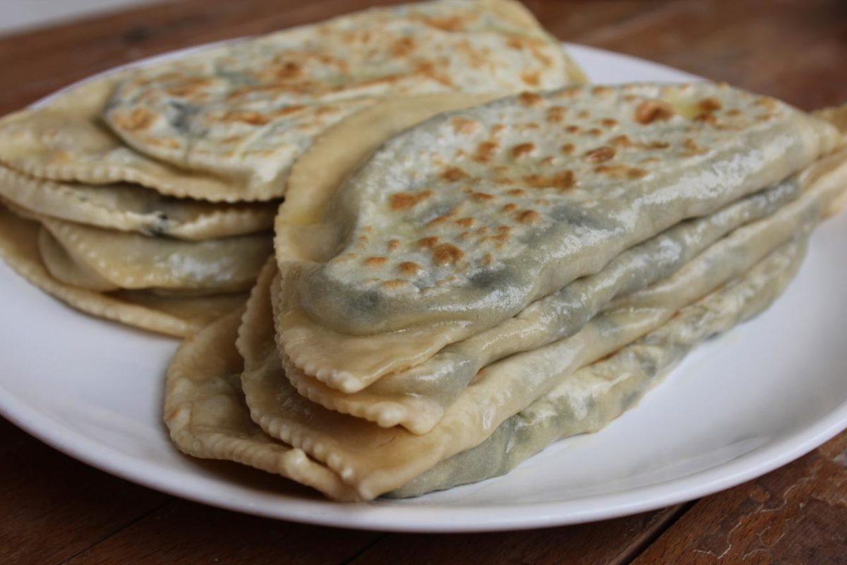 Чуду с зеленью — Кумыкская кухня