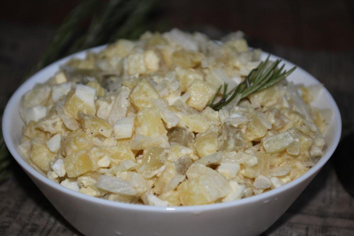 Американский картофельный салат — Кухня США