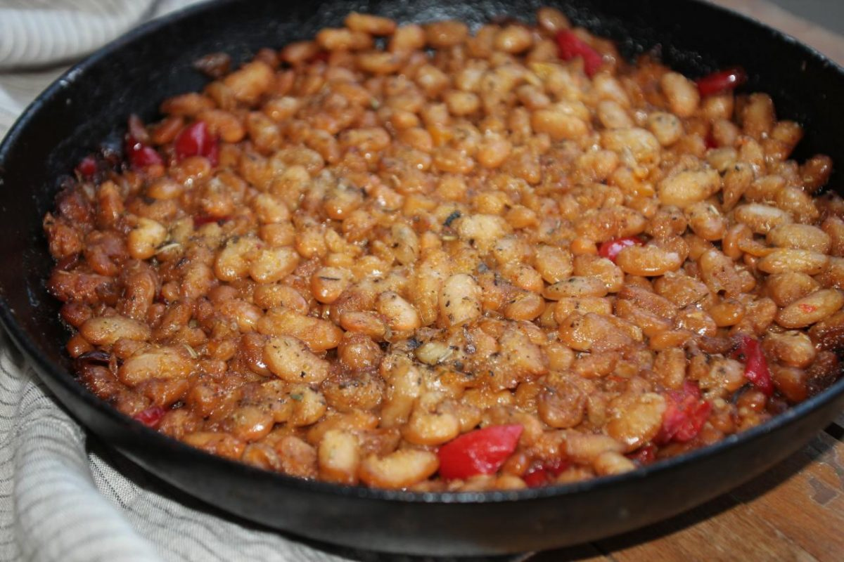 Тавче гравче — Македонская кухня