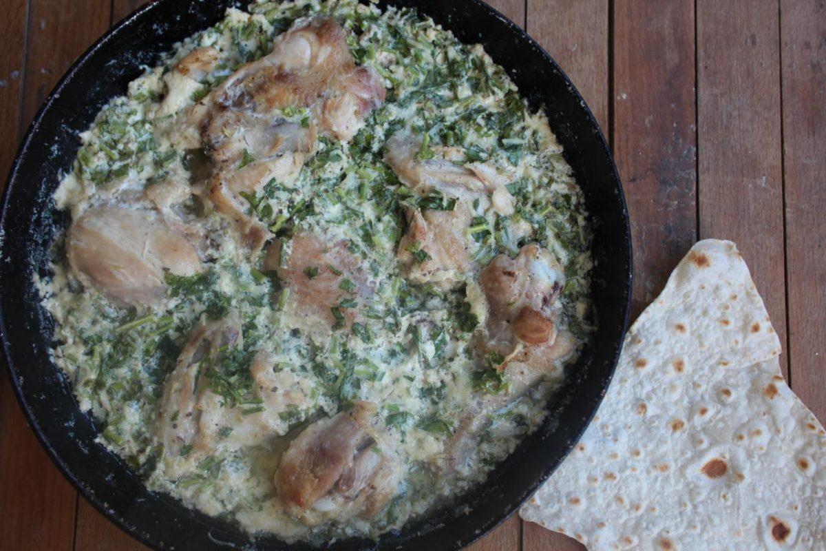 Чкмерули — Грузинская кухня