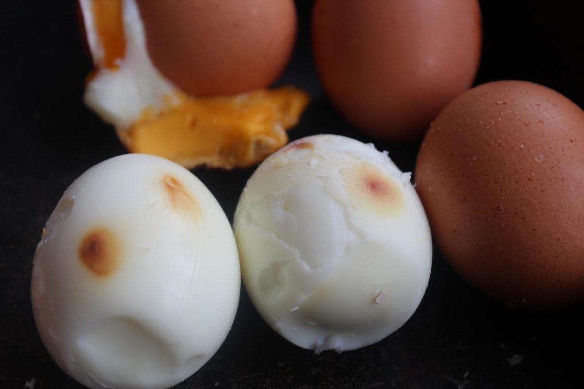 Запеченные яйца — Мордовская кухня