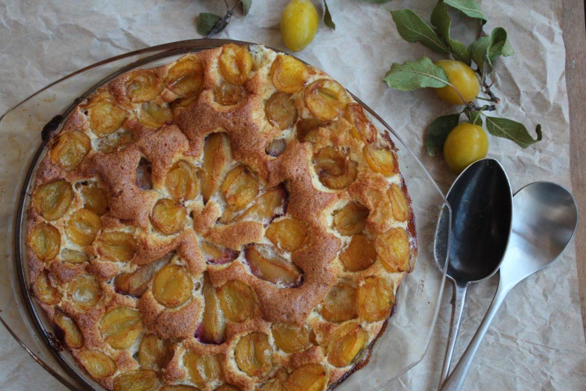 Клафути со сливами — Французская кухня