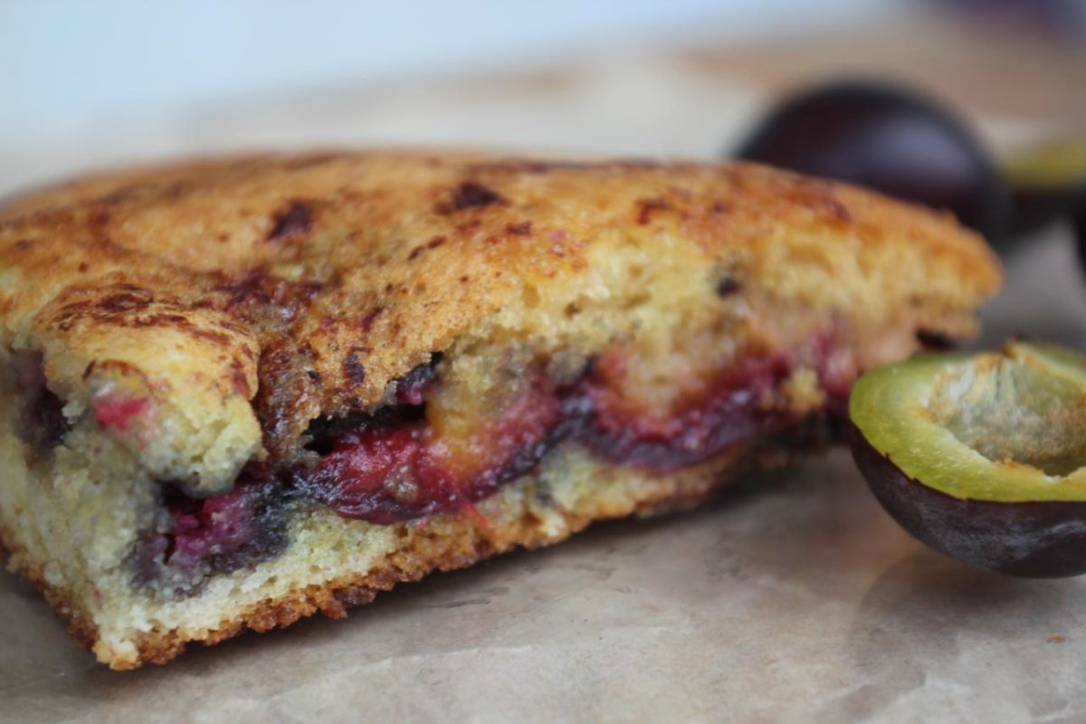 Сливовый пирог из Нью-Йорк таймс — Кухня США