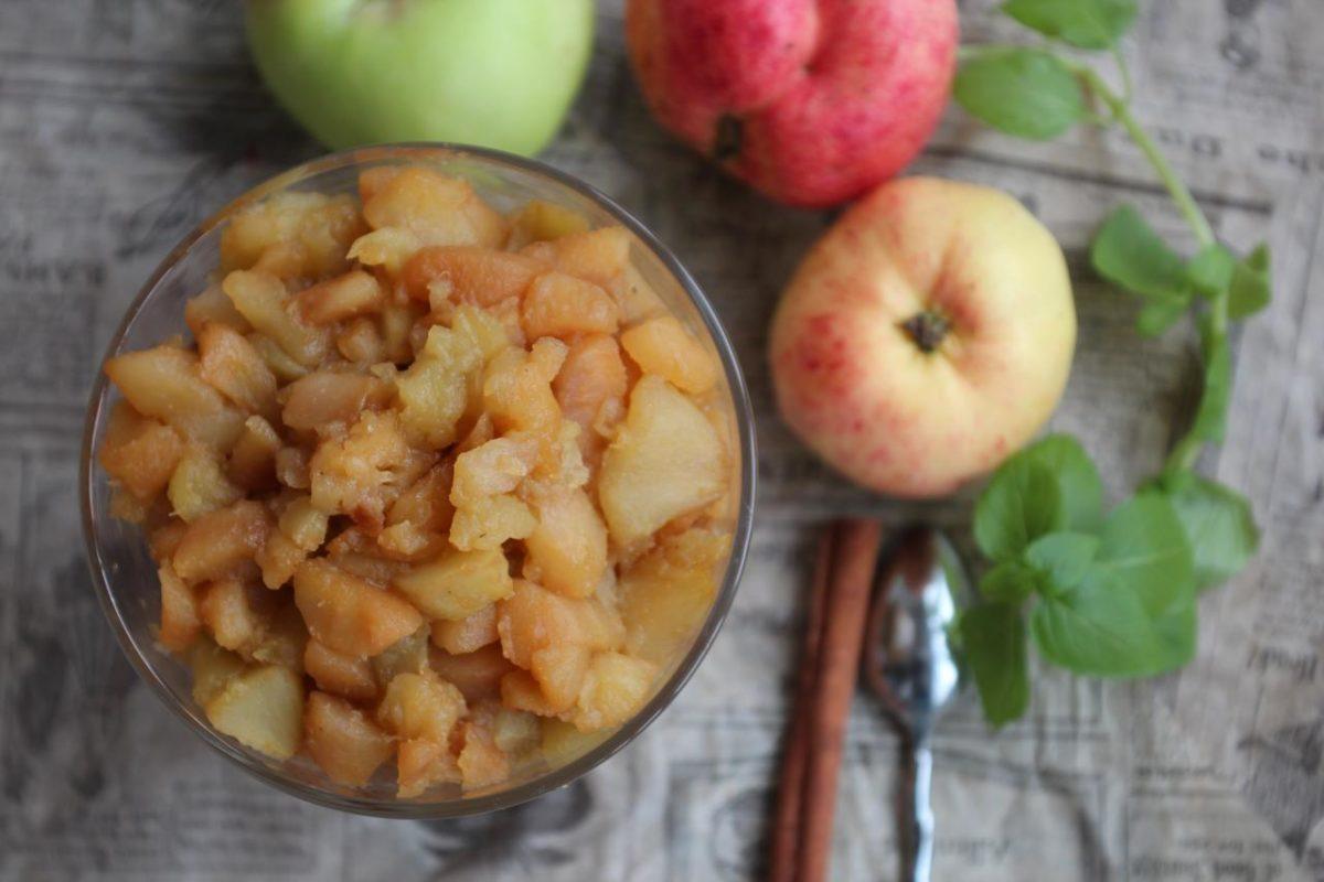 Яблочное компоте — Английская кухня