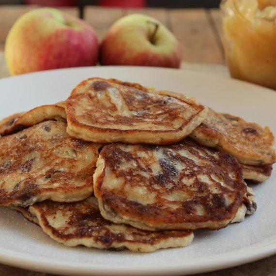 Плацки сырове с яблоками — Польская кухня