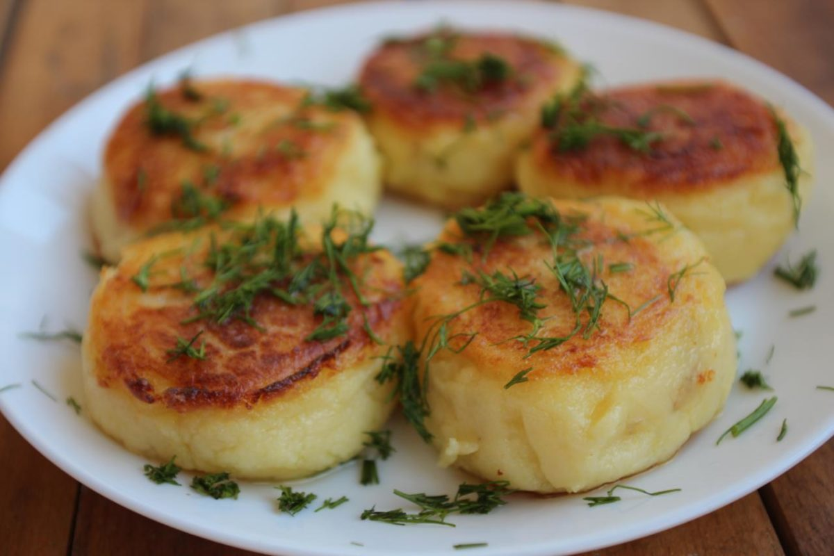 Картопляники — Украинская кухня