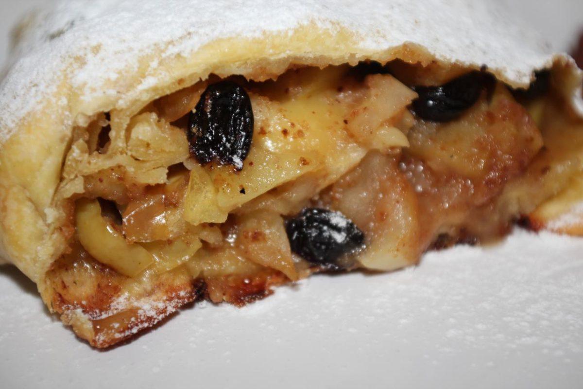 Яблочный штрудель — Австрийская кухня