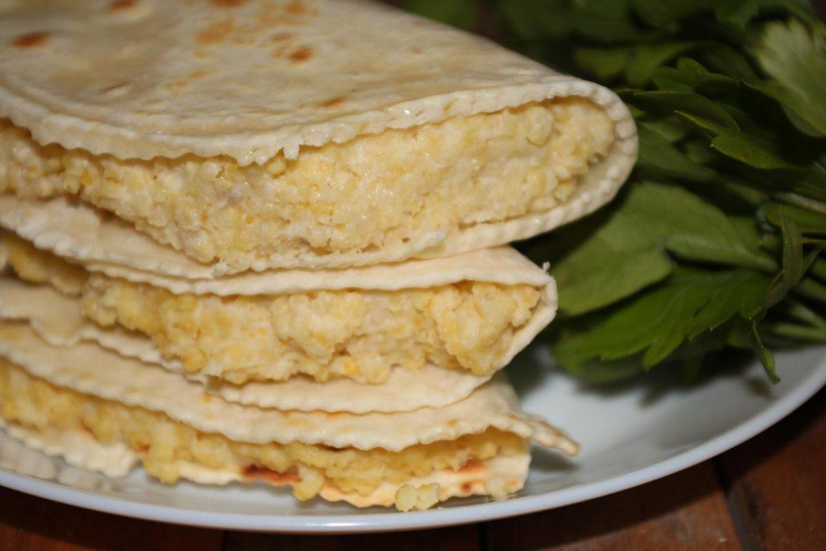 Кыстыбый с пшеном — Башкирская кухня