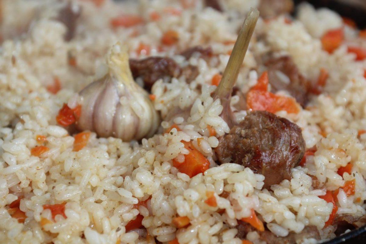 Ферганский плов — Узбекская кухня