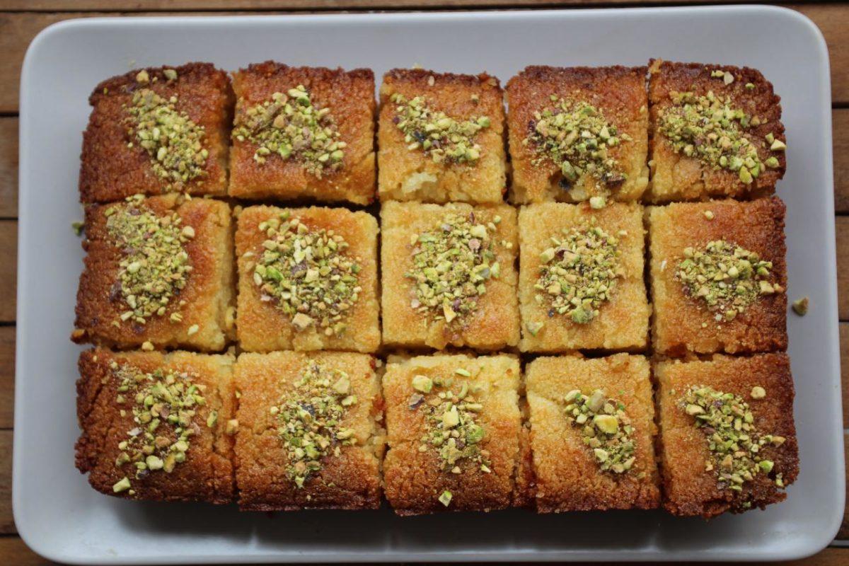 Басбуса — Сирийская кухня