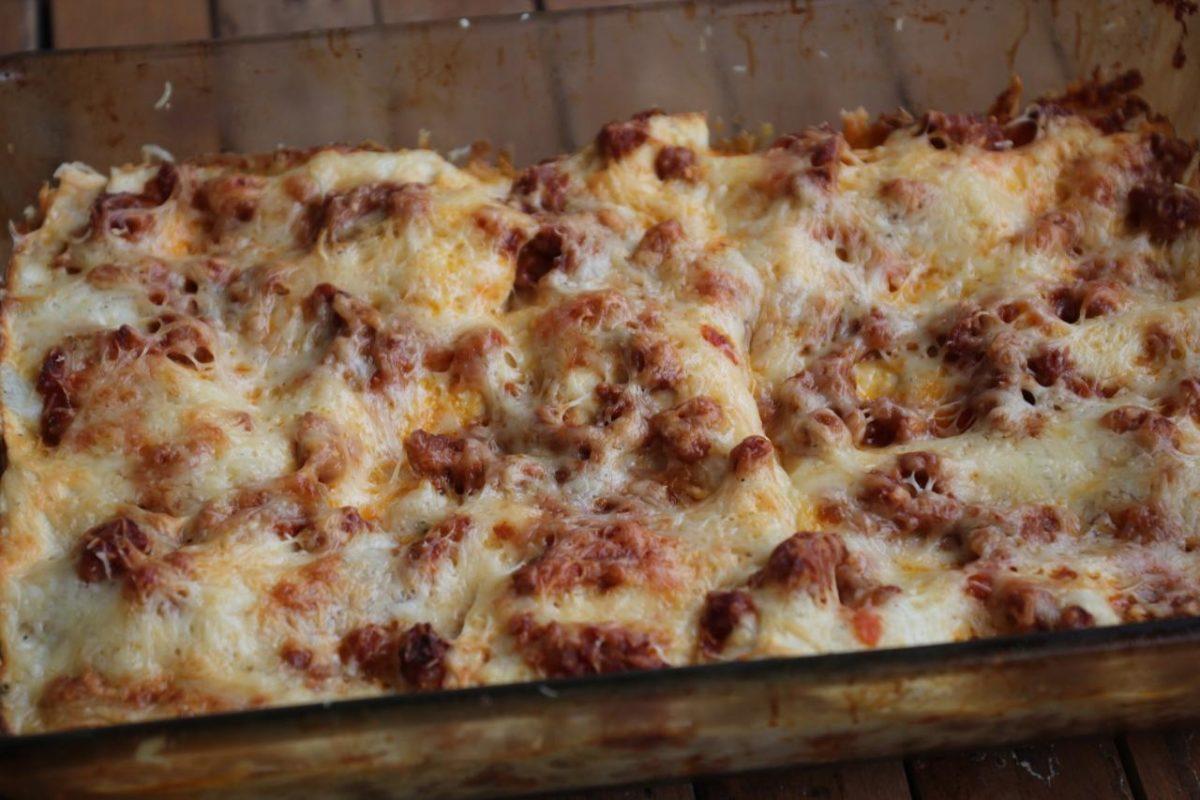 Лазанья болоньезе — Итальянская кухня