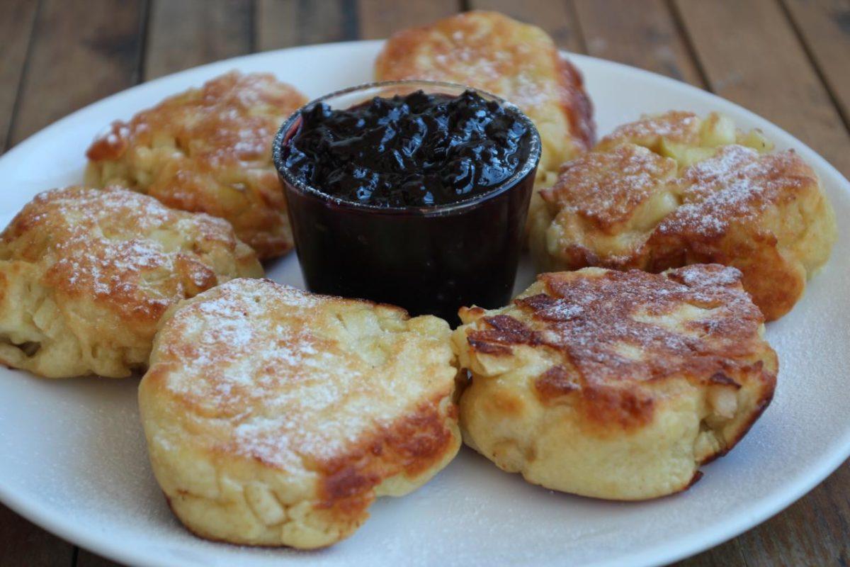 Рацухи с яблоками — Польская кухня