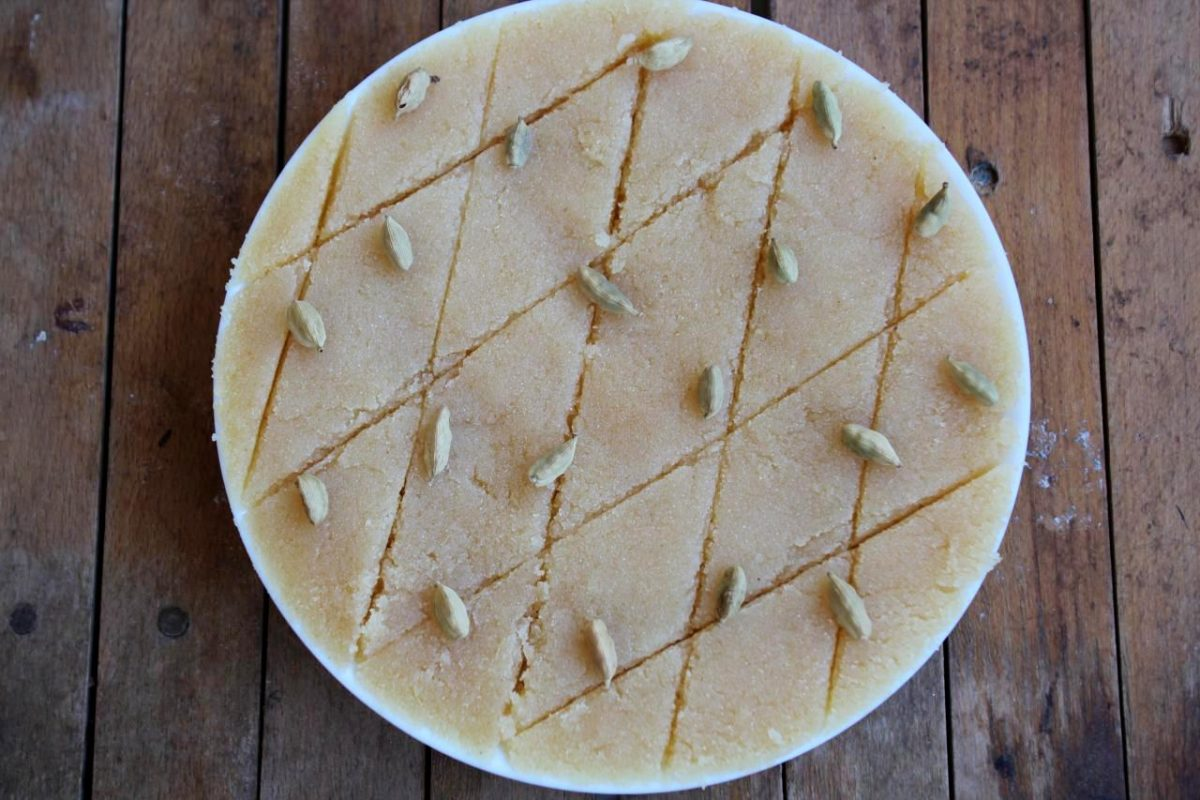 Суджи халва — Индийская кухня