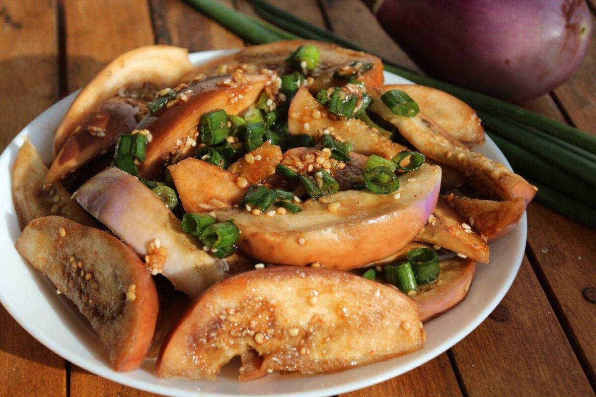 Каджи намуль — Корейская кухня