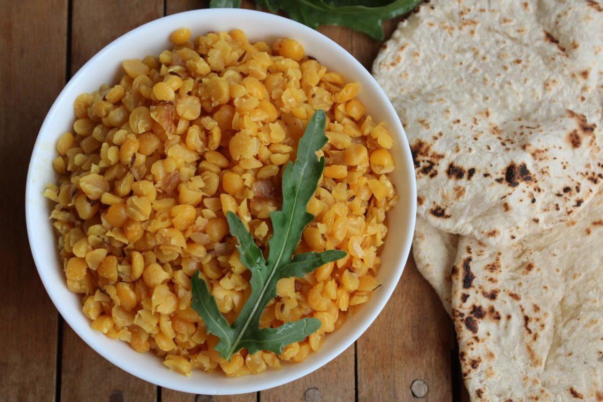 Матар дал — Индийская кухня