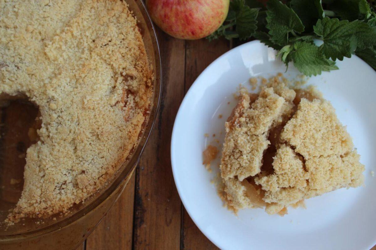 Яблочный крамбл — Английская кухня
