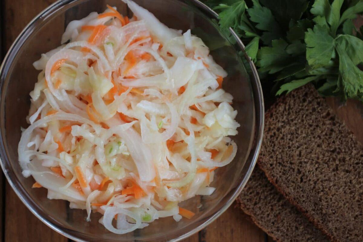 Квашеная капуста — Русская кухня
