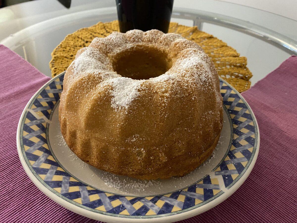 Кекс с яичным ликером Айерликеркухен — Австрийская кухня