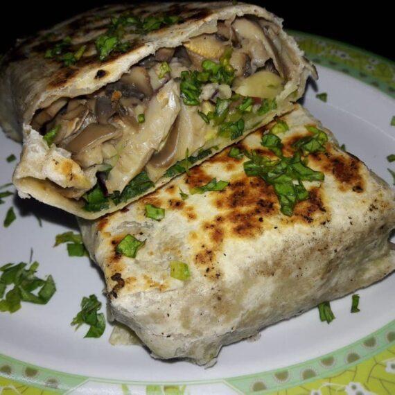 Вегетарианский буррито — Мексиканская кухня