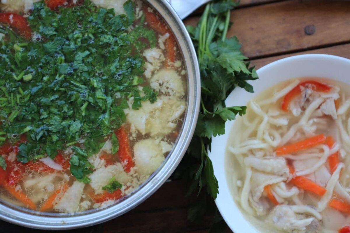 Зама — Молдавская кухня