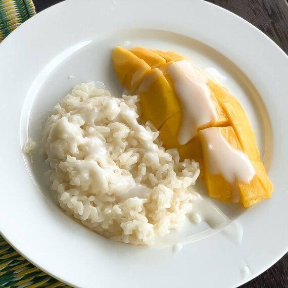 Манго стики райс — Тайская кухня