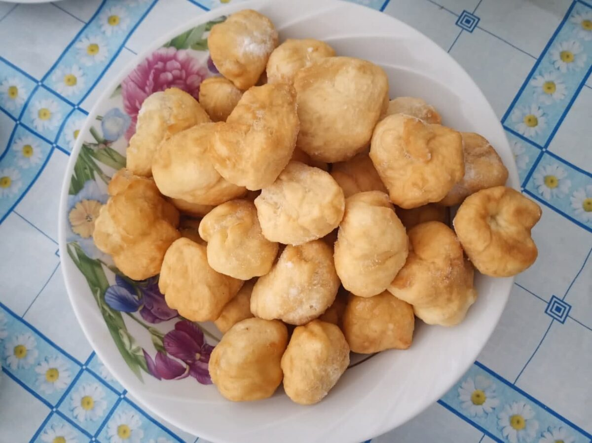 Боорсок — Алтайская кухня