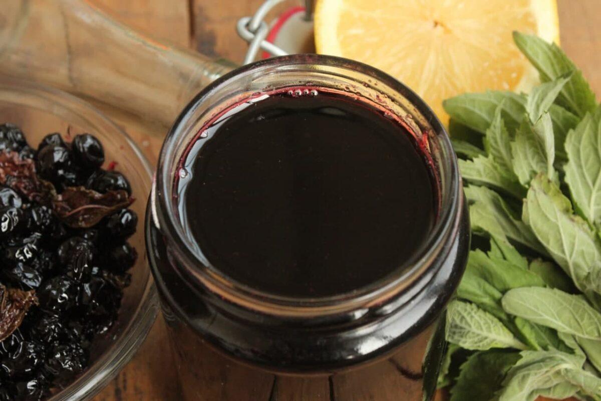 Сироп из черноплодной рябины — Польская кухня